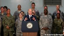 VAE Abu Dhabi Joe Biden besucht US Truppen
