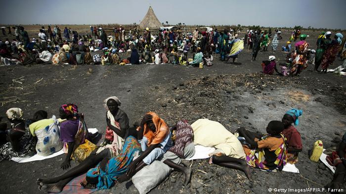 Südsudan Hunger Behinderung von Hilfsorganisationen (Getty Images/AFP/A.P. Farran)
