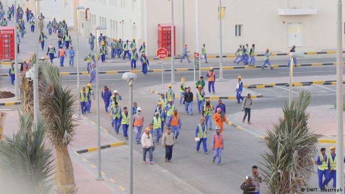 Katar WM-Baustelle Khalifa International Stadium