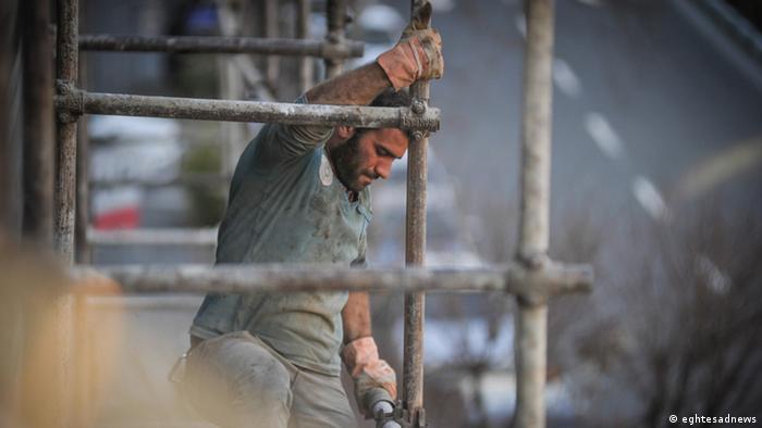 Arbeiter im Iran, ein gefährlicher Job