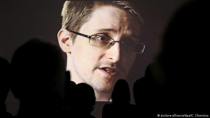 Edward Snowden en documental de la televisión pública alemana NDR en 2015