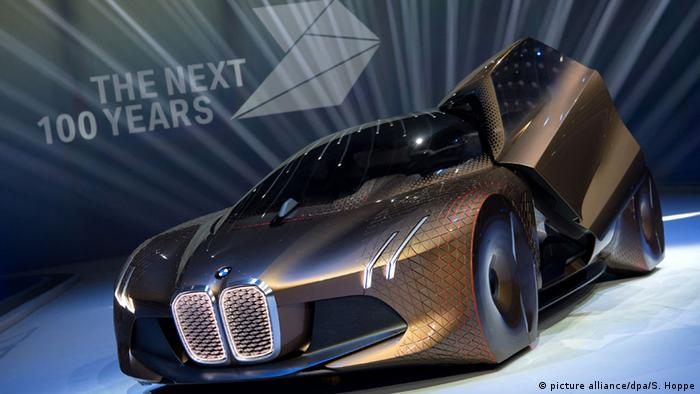 BMW futuristic car