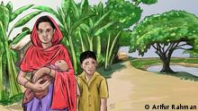 Title: Cartoon on International women's day Description: Cartoons show how women in Bangladesh face problems in their everyday lives. Keywords: Cartoon, International women's day, Bangladesh Declaration: Cartoonist Arifur Rahman has drawn these cartoons and allowed DW to use them.
