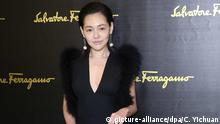 picture-alliance/dpa/C. Yichuan Taiwanese TV hostess Dee Hsu attends the fashion show of Salvatore Ferragamo during the Milan Fashion Week Fall/Winter 2016 in Milan, Italy, 28 February 2016.