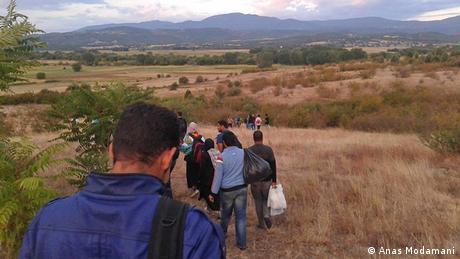 Flüchtlingstreck Syrer Anas Modamani
