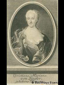Christiane Mariane von Ziegler (1695-1760)