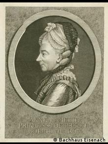Anna Amalia of Prussia (1723–1787). Photo: Bachhaus Eisenach
