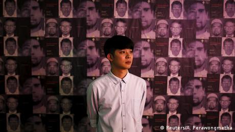 Thailand Protestkunst gegen die staatliche Repression Jirawut Ueasungkomsate Künstler