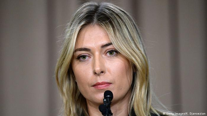 Tennis Spielerin Maria Sharapova