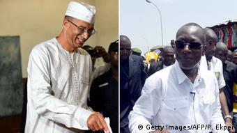 Benin Stichwahl zwischen Ex-Premier Lionel Zinsou und Baumwoll-Tycoon Patrice Talon