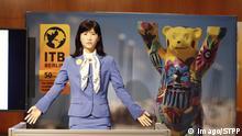 08.03.2016 ***** Roboter Dame als Hostess bei der ITB 2016 (Toshiba) Roboter Dame als Hostess bei der ITB 2016 (Toshiba) © imago/STPP