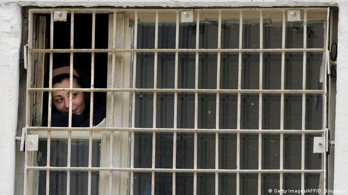 نمایی از زندان زنان در مسکو
