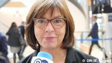 Rebecca Harms Vorsitzende der Fraktion Grüne im Europäischen Parlament