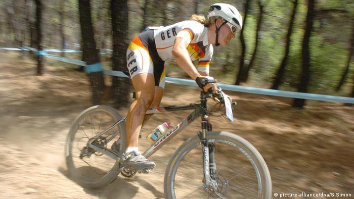 Ivonne Kraft Mountainbike Frauen