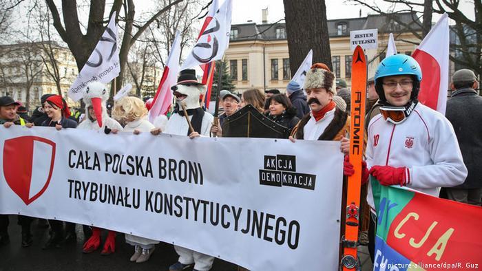 Polen Verfassungsgerichtshof Protest