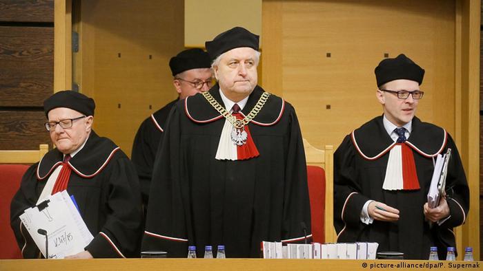 Polen Warschau Verfassungsgerichtshof Richter Andrzej Rzeplinski