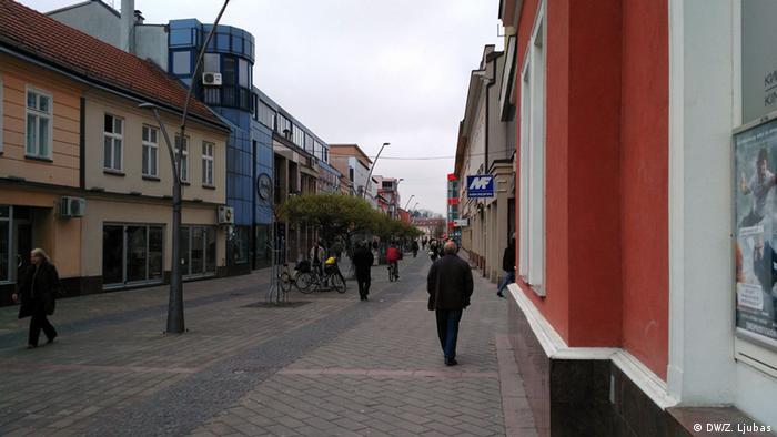 Bosnien und Herzegowina Prijedor Innenstadt