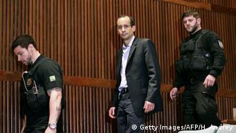 19 Jahre Haft: Marcelo Odebrecht (Bildmitte)