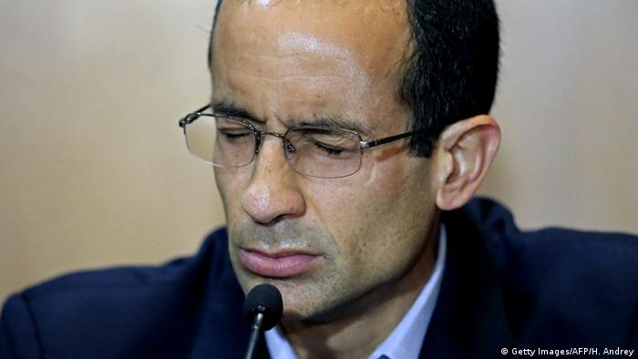 Marcelo Odebrecht at a hearing in Brazil's Parliament, September 2015 (Getty Images/AFP/H. Andrey)