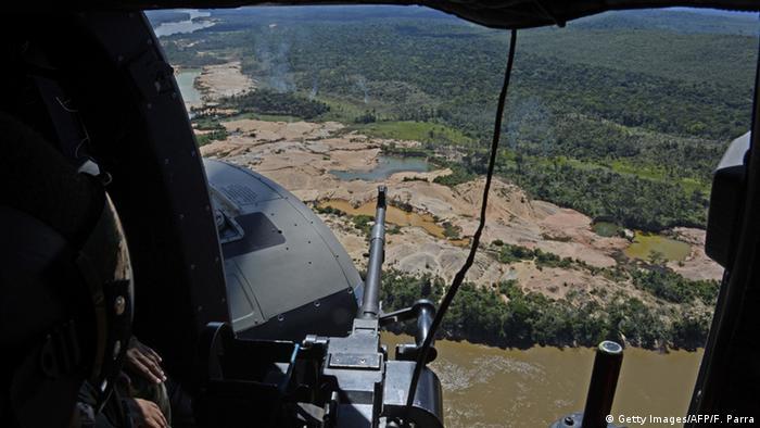 Illegale Mine in Venezuela Bolivar