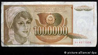 Währungen - Jugoslawien