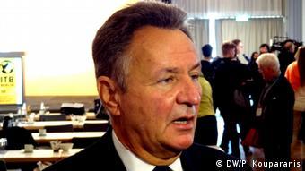 Ο Μίχαελ Φρέντζελ, πρόεδρος του Συνδέσμου Γερμανικού Τουριστικού Κλάδου (BTW)