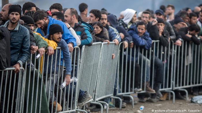 Griechenland Mazedonien Flüchtlinge in Idomeni