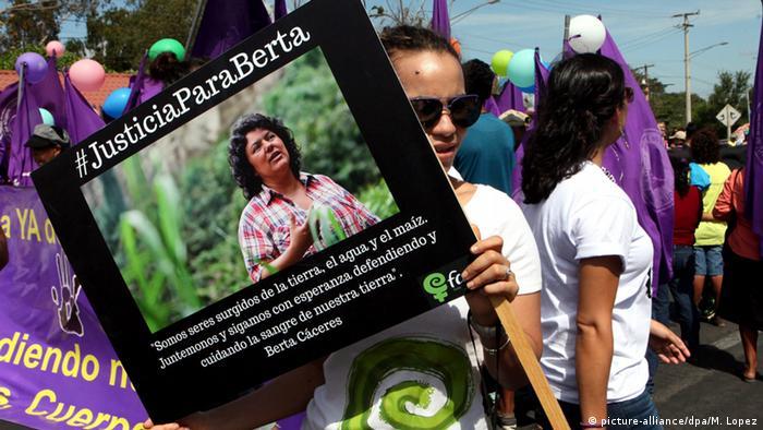 Nicaragua International Women's Day Berta Caceres