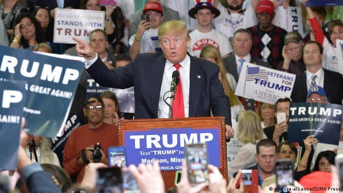 USA Vorwahlen Donald Trump in Mississippi (picture-alliance/ZUMA Press)