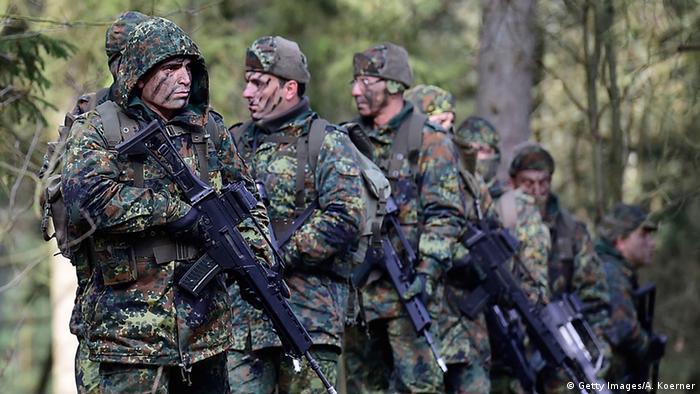 Militärische Ausbildung für Kurden in Deutschland (foto: Getty Images)