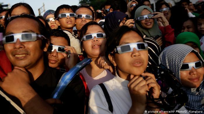 Indonesien Bali Sonnenfinsternis