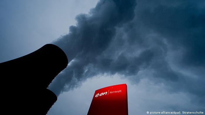 Deutschland Kernkraftwerk Grohnde gehört zu Eon