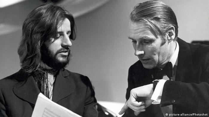 Ringo Starr und George Martin