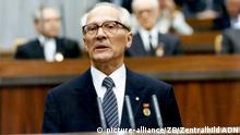 DDR Vorsitzender des Staatsrats Erich Honecker
