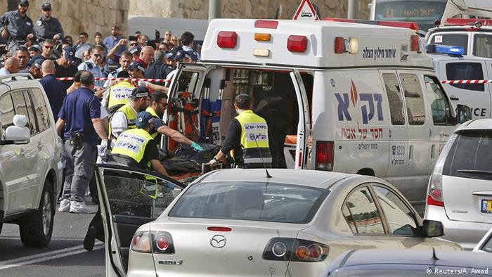 Gunmen Attack Jerusalem Commuters News Dw 09 03 2016