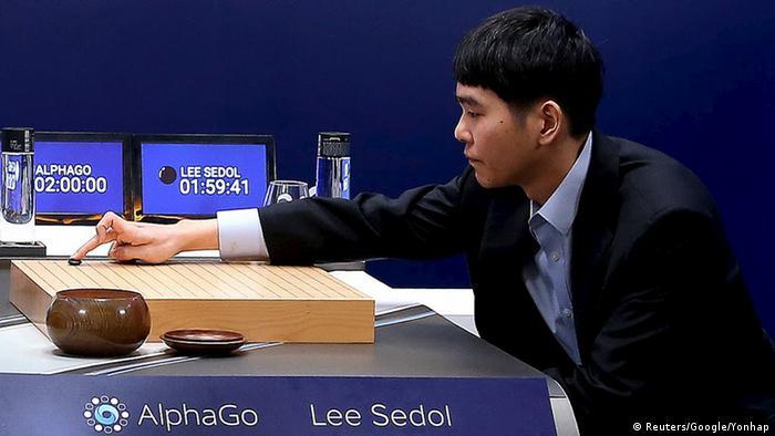 Südkorea Lee Sedol verliert gegen AlphaGo