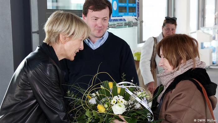 Светлана Алексиевич в гостях у Deutsche Welle