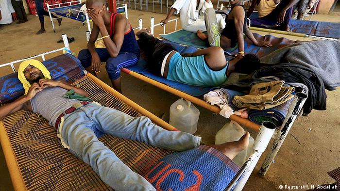 Sudan Kassala Flüchtlingscamp