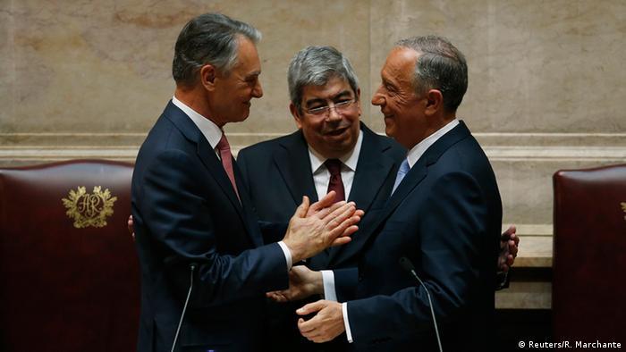 Portugal Präsident Marcelo Rebelo de Sousa Amtseinführung