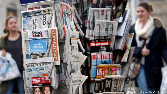 Symbolbild Presse in Deutschland