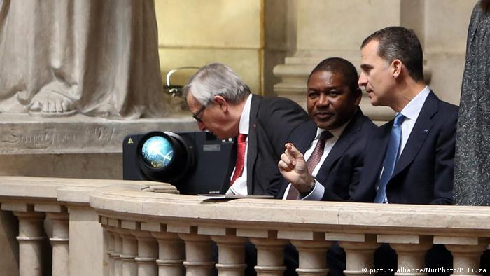 Portugal Präsident Marcelo Rebelo de Sousa Amtseinführung Filipe Nyusi