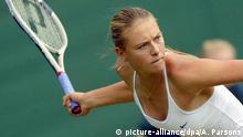 Großbritannien Maria Scharapowa Wimbledon 2004