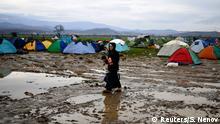 Griechenland Mazedonien Flüchtlinge bei Idomeni