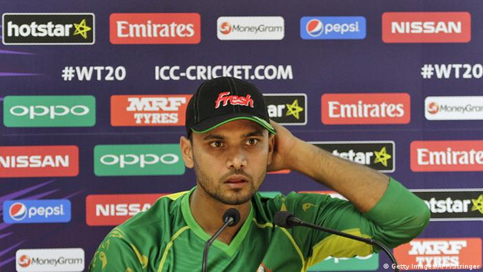 Indien Dharamsala Bangladesh cricket captain Mashrafe Morfaza (Getty Images/AFP/Stringer)