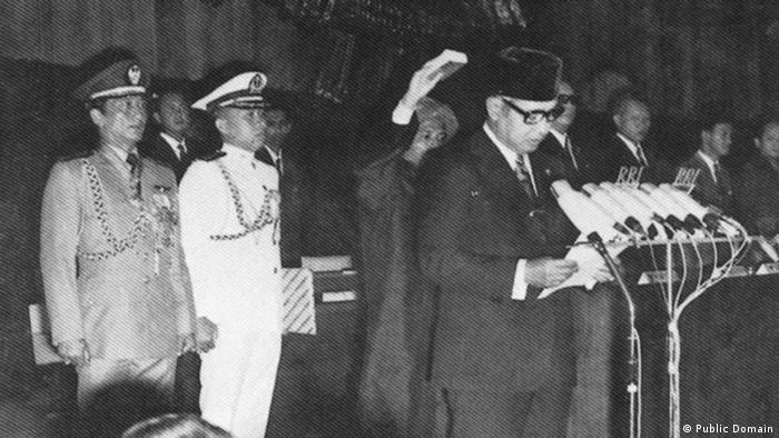 Indonesien ehemaliger Präsident Sukarno (Public Domain)