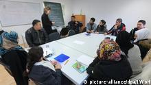 Integrationskurs Deutschkurs Unterricht Asylbewerber Flüchtlinge Osterburg