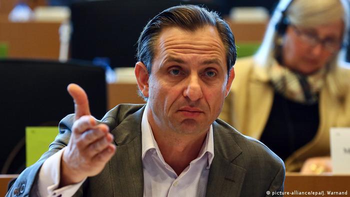 Deutschland Jorgo Chatzimarkakis Ex-Europaabgeordneter (picture-alliance/epa/J. Warnand)