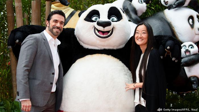 Großbritannien Kung Fu Panda 3 Premiere London