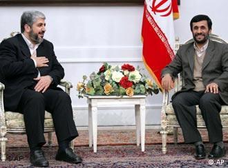 دیدار خالد مشعل و محمود احمدینژاد در تهران