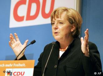 Christian values must be at the heart of a CDU manifesto, Merkel said